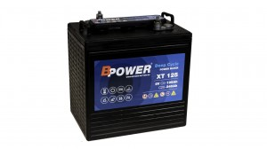 Akumulator BPOWER LIGHT-TRACTION XT125 240Ah 6V P+